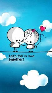 fall in love together