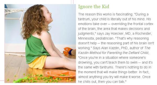 ignore kid
