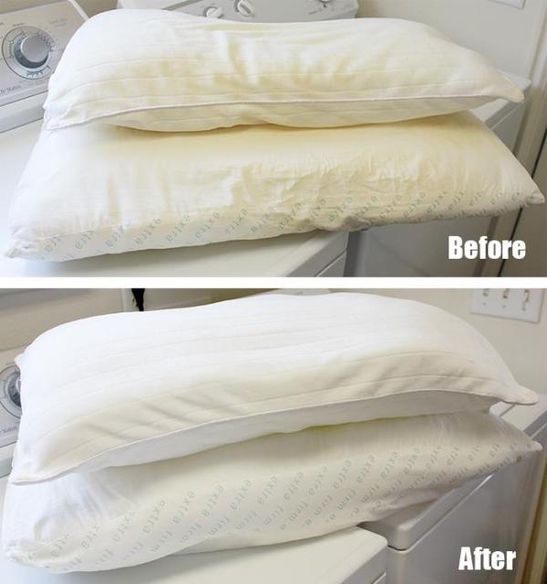 before and after pillows