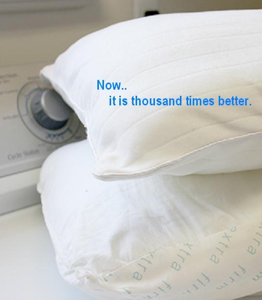 How to wash whiten yellowed pillows feminine touch - Whiten yellowed pillows ...