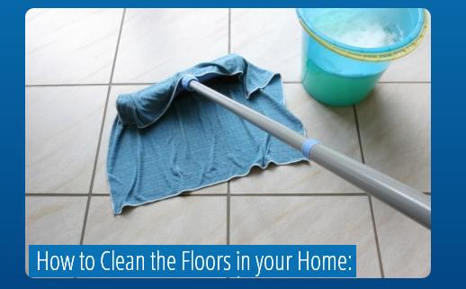 floor cleaning how