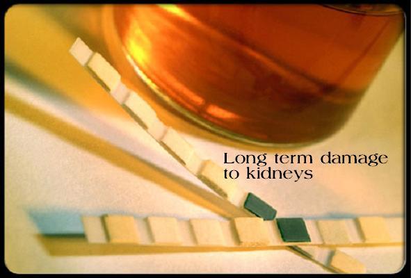 damage to kidneys