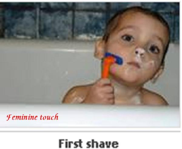 first shave