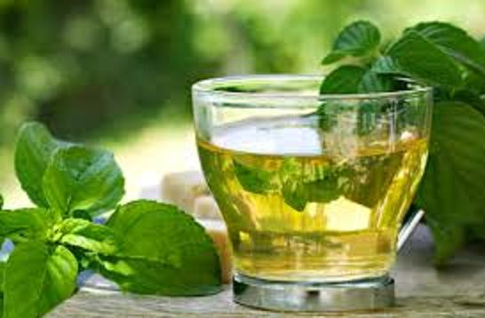 mint and tea