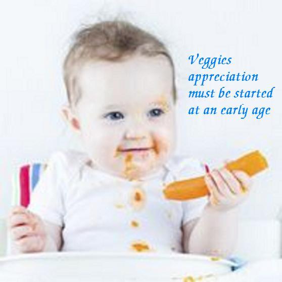 baby n veggies