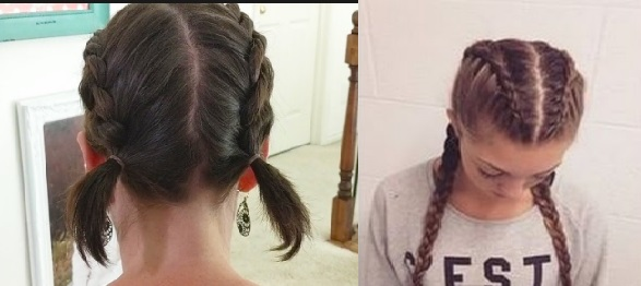 tight hairstyles